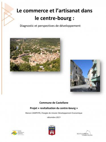 Revitalisation du Centre bourg - Diagnostic du commerce et de l'artisanat
